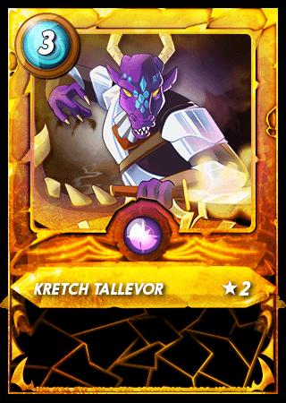 Kretch Tallevor Level 2 Gold