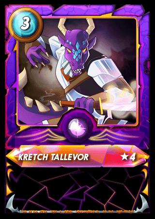 Kretch Tallevor Level 4