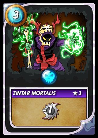 Zintar Mortalis Level 3