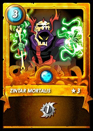 Zintar Mortalis Level 3 Gold