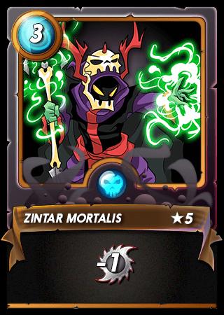 Zintar Mortalis Level 5