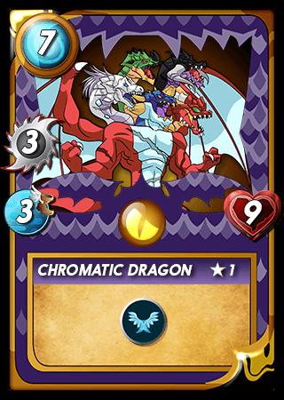Chromatic Dragon Level 1