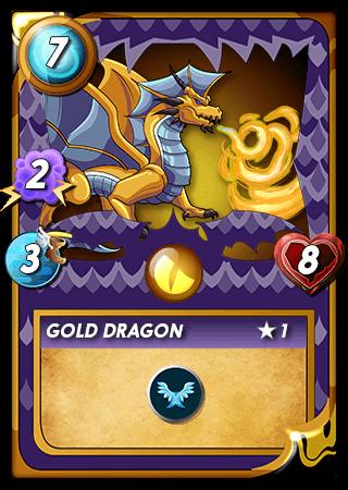 Gold Dragon Level 1