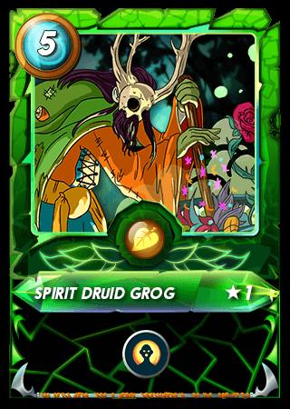 Spirit Druid Grog Level 1